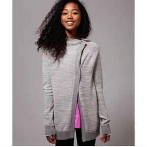 "Ivivva by Lulu ""Back to Rhythm"" Grey Sweater Wrap"